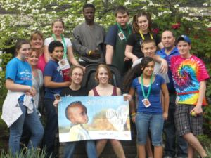 Wesley Youth Group participating in the 30-Hour Famine