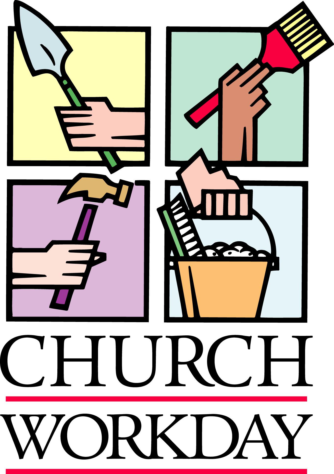 Church Clean Up Wesley United Methodist Church